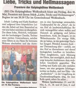 Presse Rundschau Mai 2014